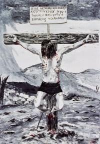Crucifixion feet