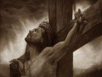 Crucifixion hand