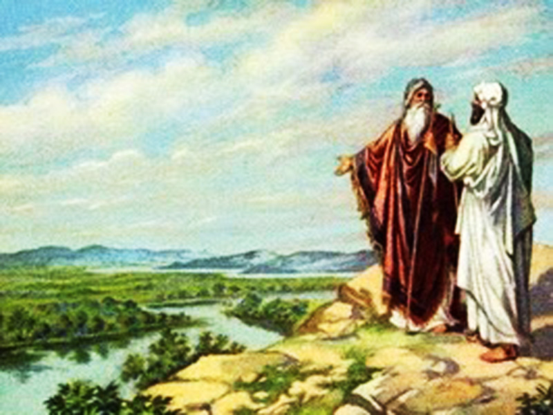 Genesis 13 Abram and lot choose land