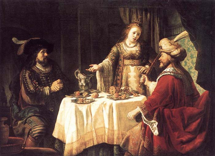 Esther 7 the Banquet of Esther