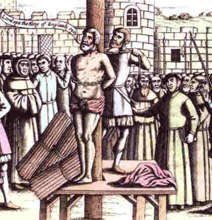 Killing Tyndale for his faith