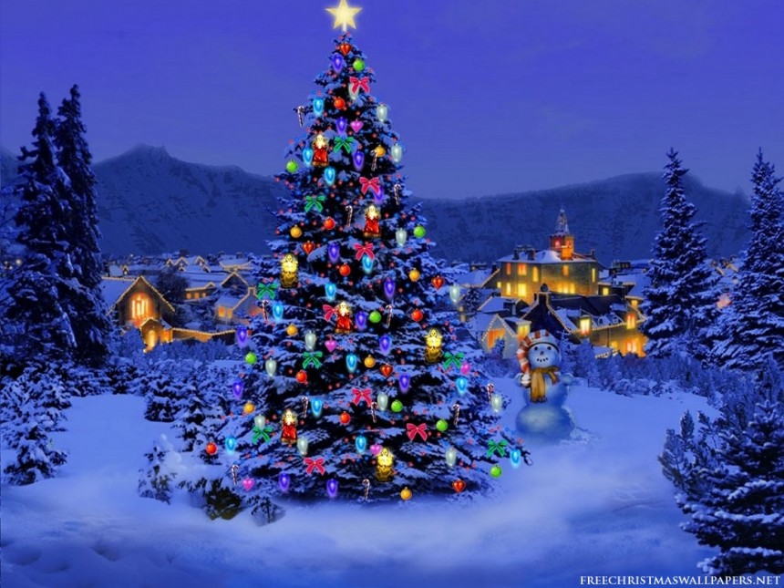 Luke 2 Christmas Tree
