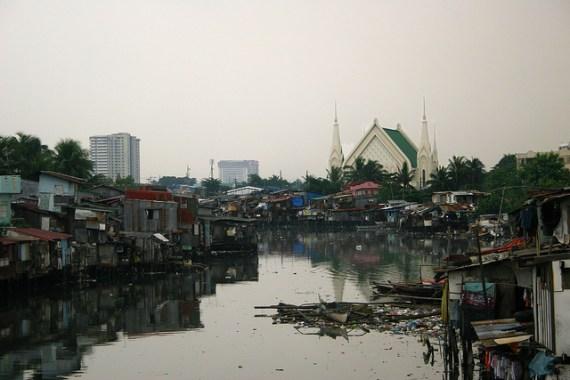 Church in Manila Slum