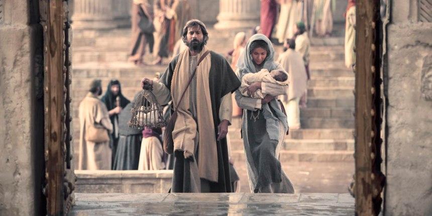 Luke 2 Joseph and Mary Jesus Temple