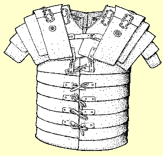 Roman soldier breastplate
