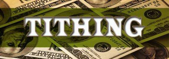 Tithing dollars