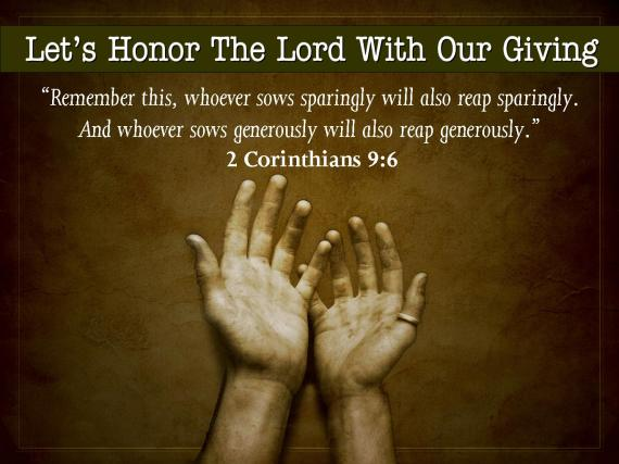 Tithing Giving