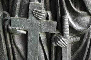 cross-sword-sculpture