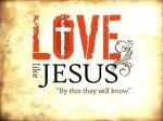 Following Jesus into Love