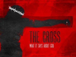 the cross and god