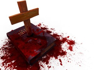 bloody Jesus bible