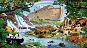 the flood rainbow