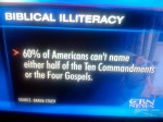 Biblical Illiteracy is Not a Problem