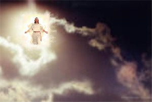Jesus' Second Coming in the clouds