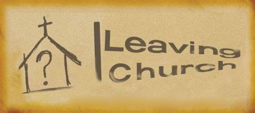 leave the church