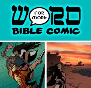 word for word Bible comic