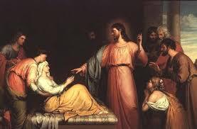 Jesus healing peters mother in law Luke 4