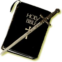 Bible and the sword