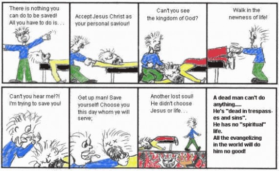 dead in sin calvinism evangelism
