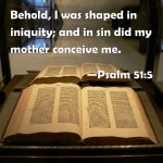 Are People Born in Sin? (Psalm 51:5)