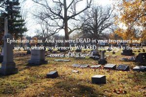 dead in sin Ephesians 2 1-3