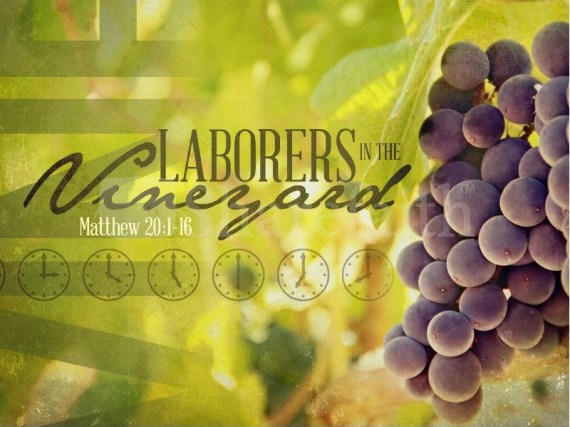 parable of the workers in the vineyard Matthew 20 16