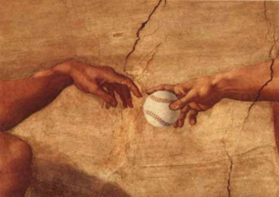 God gave us baseball