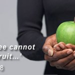 Good fruits are not the good works we perform