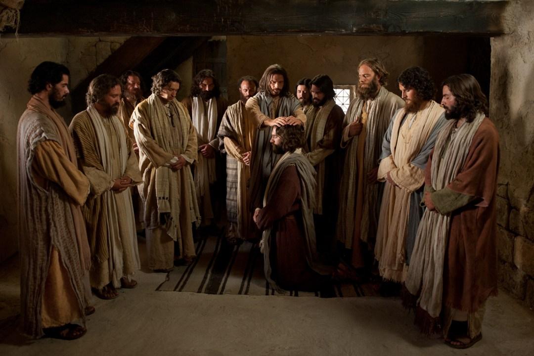 choosing 12 apostles Luke 6