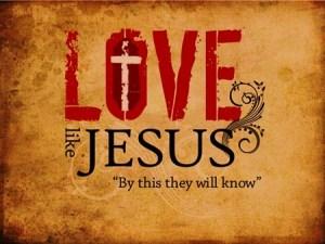 aimer comme Jésus