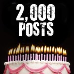 2000 Posts! And how YOU can win some of my books!