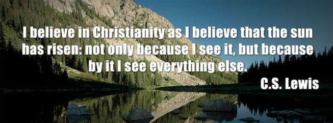 belief in God - CS Lewis