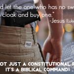 Go Buy a Sword! (Luke 22:36)