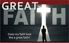 great faith Luke 7:1-10