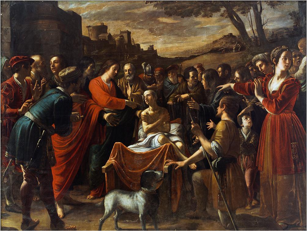 Jesus raises the widows son Luke 7:11-17