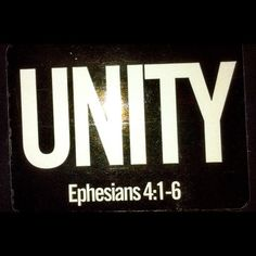 Ephesians 4:1-3 - How to Walk in Unity with other Christians