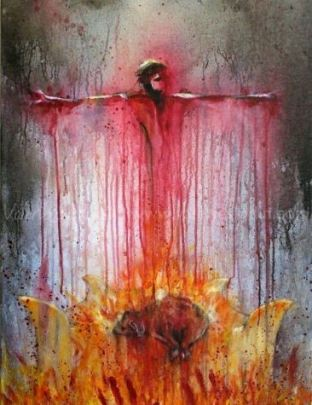 violence of God Crucifixion of Jesus