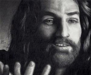 Jesus smiling humor