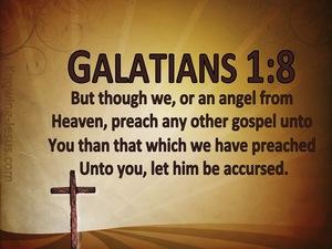 Galatians 1:8-9