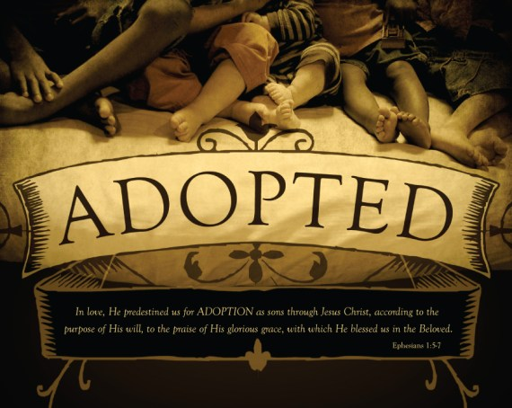 Romans 9:4 adoption