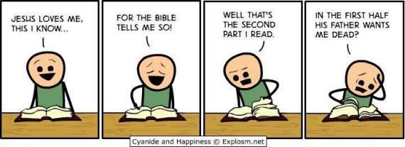 does God hate us while Jesus loves us