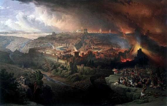 destruction of Jerusalem 586 BC