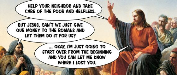 take care of the poor