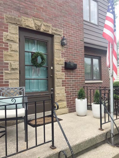 Diagonal Front Porch