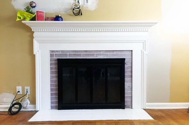 Fireplace Right After
