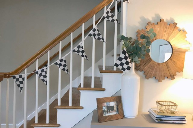Stairs Flags