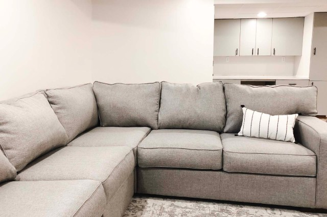 Ashlor Sectional Front Angle /w Cabinets