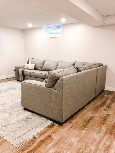 Ashlor Sectional TV Room