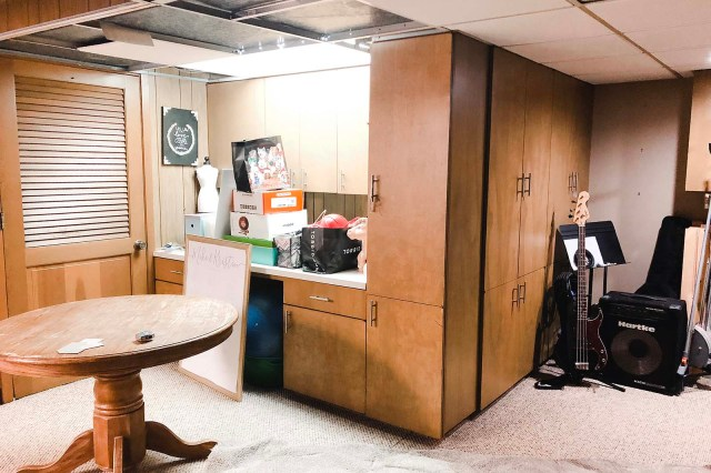 Basement Before Cabinets