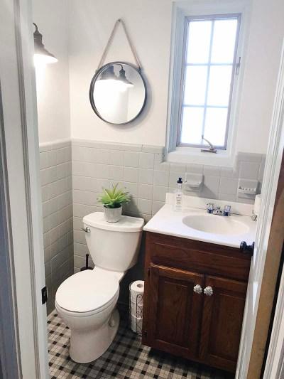Half Bathroom Eider White Dorian Gray